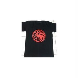 ゲーム・オブ・スローンズ Game of Thrones ターガリエン家・紋章 プリントTシャツ