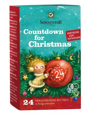 【クリスマス限定】ゾネントア・クリスマスカウントダウンのお茶