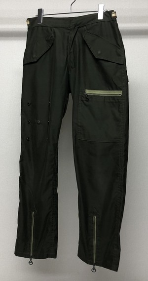 1990s MAHARISHI MILITARY NYLON TROUSERS