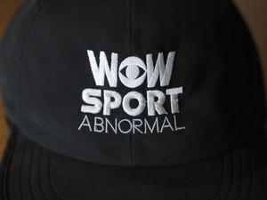 WOW SPORT CAP 黒(送料込み)