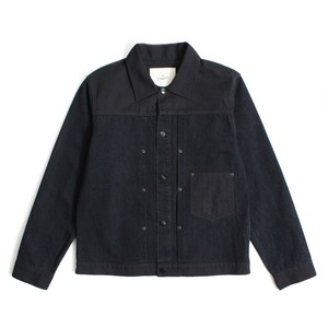 Enharmonic TAVERN x FUJIYAMA Wash Jean Jacket -Black <LSD-AH1B2>