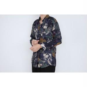 LANVIN shrink design shirts