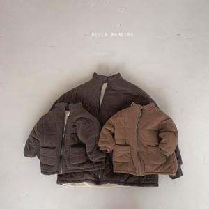 =sold out= hound padding jacket〈BELLA BAMBINA〉