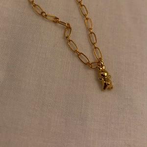 うさぎネックレス #1816 /ゴールド