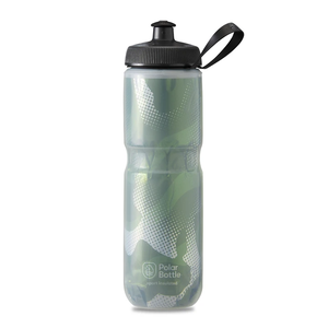 POLAR BOTTLE / Contender 24oz / Olive/Silver