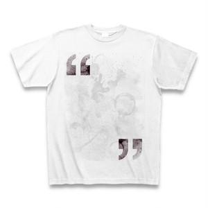 私は誰かに引用されているTシャツA(引用符/ゴシック体)