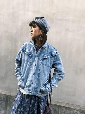 Vintage chemical wash denim jacket  ( ヴィンテージ ケミカルウォッシュ デニム ジャケット )
