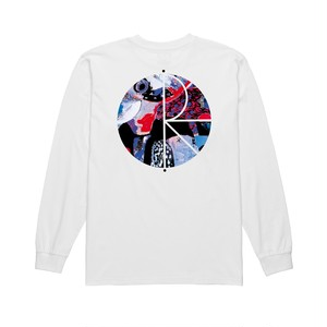 POLAR SKATE CO. Orchid Fill Logo Longsleeve M PSC ポーラー ロングTシャツ