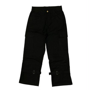 ILL IT - MIXED DENIM PANTS (BLACK×BLACK)