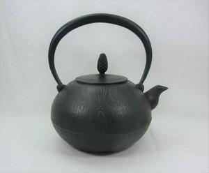 鉄瓶 丸形松 1.2L