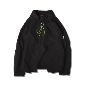 TRAFFIC NYLON PULLOVER / BLACK