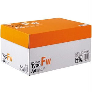 PPCペーパータイプFW:A4判1箱(5,000枚:500枚×10冊)