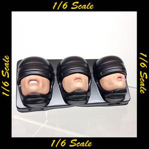 【02240】 1/6 ホットトイズ ロボコップ マウスパーツ