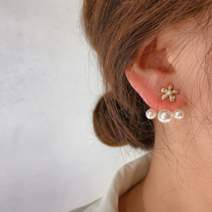 flower×pearl pierce p143