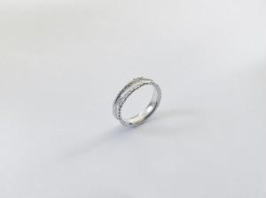 Yularice W line ring SV925