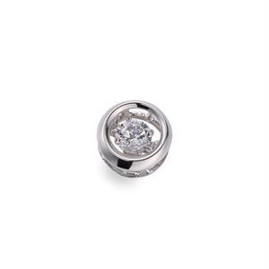 5:揺れるダイヤモンドペンダント0.2ct