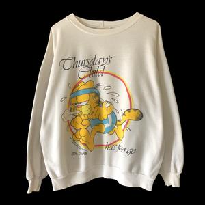〜80s GARDIELD cruneck sweatshirts