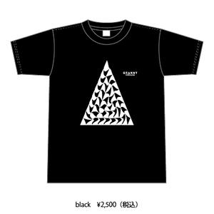 オリジナルTシャツ 三角 black(黒)