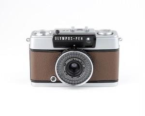 テスト用フィルム1本付き&現像代込み!F3.5 28mm PEN EE-3 OLYMPUS オリンパスペン EE-3  [ブラウン] ハーフ コンパクト 中古フィルムカメラ