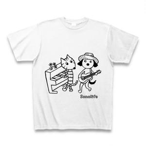 Tシャツ 「ソノライフ Duo-Style カラー;ホワイト」