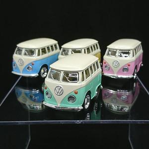 KiNSFUN ファニーワーゲンバス  パステルカラー 4台セット