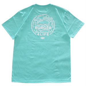 LIFE BURGER Tee (MINT) / LIFEdsgn