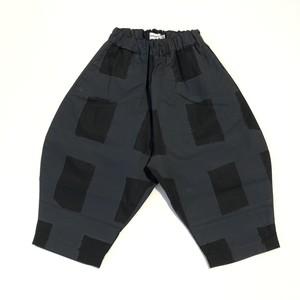 【21SS】フランキーグロウ ( frankygrow )ORIG CHECK BIG PANT[ F]black-black パンツ