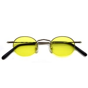 BOSTON CLUB ボストンクラブ / SOL Sun / 01 Silver - Yellow Lenses シルバー-イエローレンズ サングラス