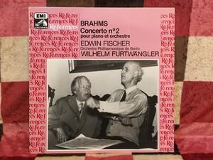 仏盤フルベン&フィッシャーのブラームス  ピアノ協奏曲2番