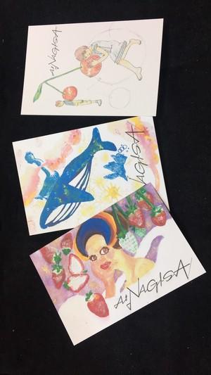At NAGISA ゆかり  オリジナルポストカード3枚セットA