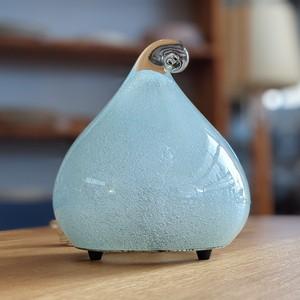岩田工芸ガラス株式会社 ブルー スタンドランプ テーブルランプ 卓上照明