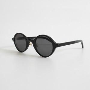 THE NERDYS / CIRCLE sun glasses[BLACK/GRAY]