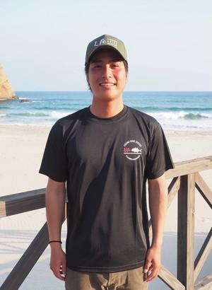 再入荷☆ LIFE FISHING GUIDE SERVICE  ORIGINAL DRY T-SHIRT カラー:ブラック