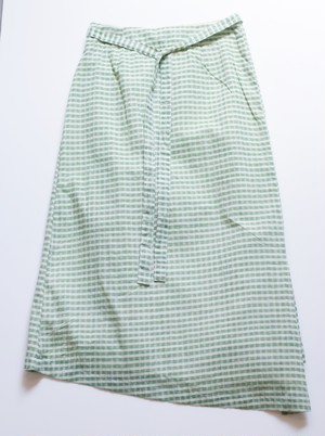 "A.Dupré ""wrapped skirt""[green]"