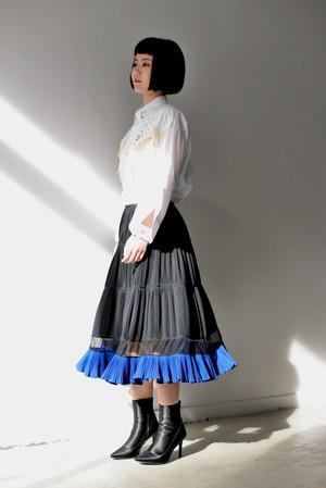 TOGA / Polyester taffeta skirt