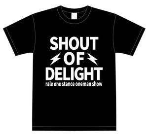 SHOUT OF DELIGHT Tシャツ Mサイズのみ!