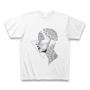 Mandala Face Tee T-shirt 曼荼羅の横顔 Tシャツ