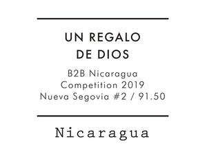 【Special 200g】Nicaragua B2B 2位 / UN REGALO DE DIOS