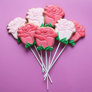 ICING COOKIE(rose)