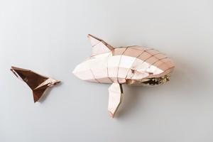 鮫(銅板・真鍮板製)