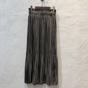 botanical/シルキーギャザースカート