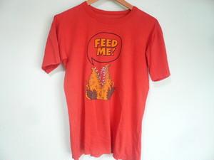 ビンテージ シングルステッチ LITTLE SHOP OF HORRORS リトルショップオブホラーズ Tシャツ / B級 映画 シネマ ムービー 60s 80s