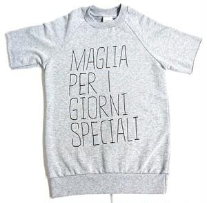 MAGLIA(マリア) 半袖スウェット SPECIALI グレー