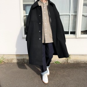 Round Collar Coat | Honnete