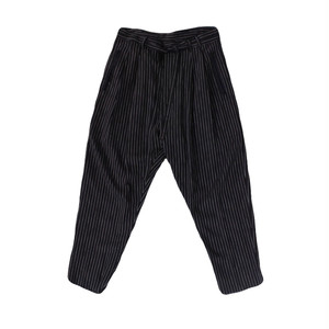 BED J.W. FORD  Stripe Pants Black
