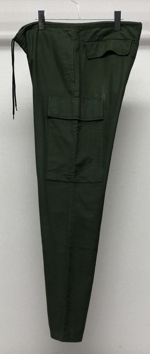 1998s HELMUT LANG FLANNEL ONE POCKET CARGO TROUSERS