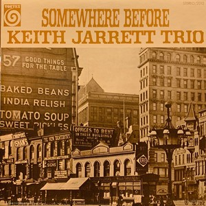 KEITH JARRETT TRIO - Somewhere Before