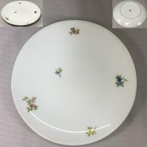 大倉陶園花柄19cmプレートT1929