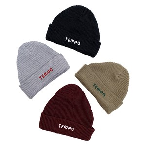 【Restock&Newcolor】TEMPO / ANYTIME BEANIE