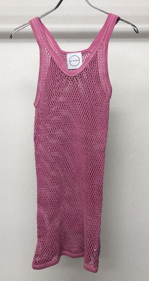 PER GOTESSON MESH SLEEVELESS PINK